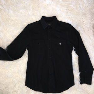 Express Men's Fitted Dress Shirt